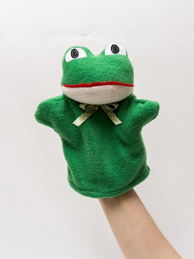 Кукла-перчатка малая Лягушка.