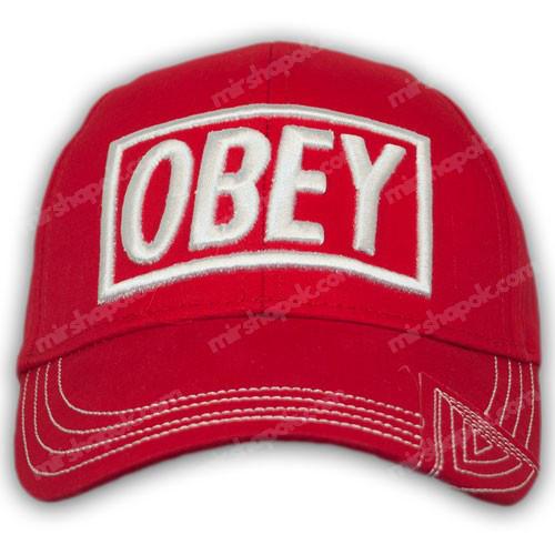 Бейсболки OBEY