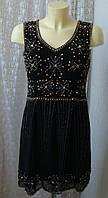 Платье вечернее с бисером Lace&Beads р.44-46 7694, фото 1