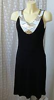 Платье летнее вискоза стрейч Even & Odd р.46 7700, фото 1