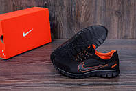 Летние мужские кроссовки сетка Ans orange Nike