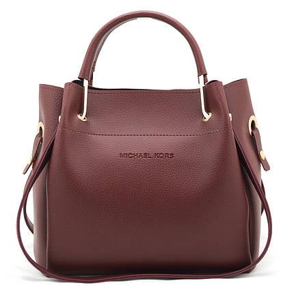 Женская сумка Michael Kors Medium Claret, фото 2