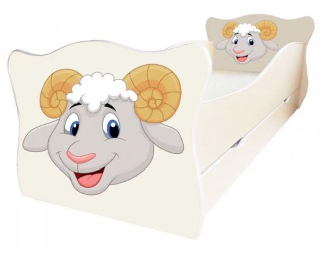 Кровать детская Enimal-12 с ящиком (Бараш)