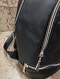 (Топ продаж-3 отдела)Женский рюкзак искусств кожа качество городской спортивный стильный опт, фото 5