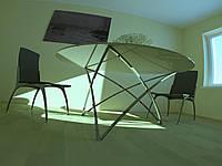 Дизайнерский обеденный стол 1300*1300*750