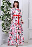 Нарядное длинное Платье Доминика, фото 1
