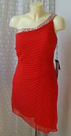 Платье красное вечернее с бисером Mascara р.44 7705, фото 1