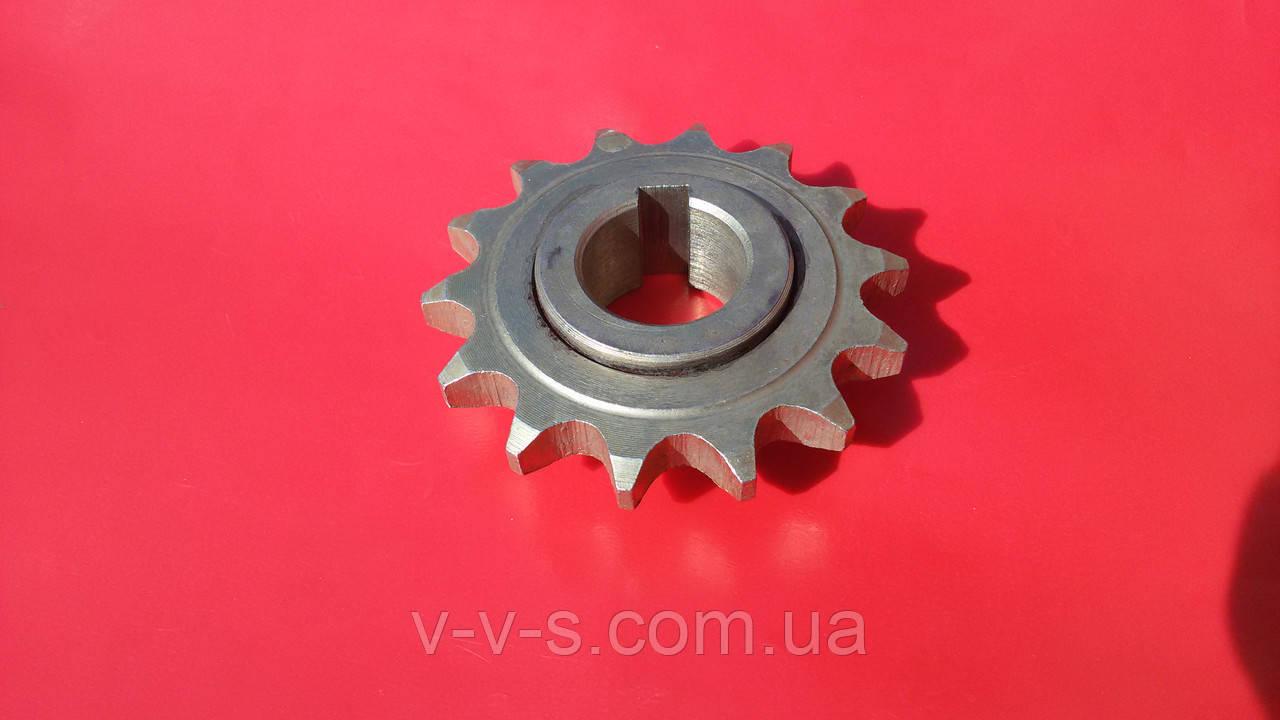 Звездочка Z-14 SK12-05.02.001 Мультикорн ось колеса приводной консоли