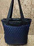 (Бегунок золото популярный)Женские сумка стеганная с кожаным качество только оптом, фото 5