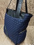 (Бегунок золото популярный)Женские сумка стеганная с кожаным качество только оптом, фото 2