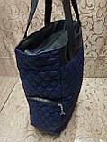 (Бегунок золото популярный)Женские сумка стеганная с кожаным качество только оптом, фото 4