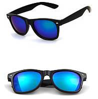 c912d66c193c Очки солнцезащитные Сolorful зеркальные форма Wayfarer RB2140 зеленые  зеркалки
