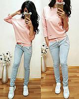 Спортивный костюм Вставка / розовый / черный / коралл / мята / серый