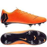 Футбольные мужские бутсы Nike Mercurial Vapor 12 Academy SG-PRO, фото 1