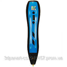 3Д ручка Model 5 голубая с набором пластика 12 цветов по 3 метров