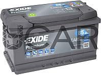 Exide Premium 85 Ah 800 A аккумулятор (-+, R), 2020 год (EA852)