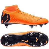 Футбольные мужские бутсы Nike Mercurial Superfly 6 Academy SG-PRO, фото 1