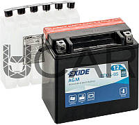 Exide Bike AGM 12 Ah 12 V 200 A аккумулятор (+-, L), 11.2017 - 05.2018 (ETX14-BS)