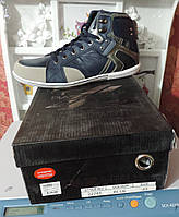 Мужские фирменные кроссовки, высокие - компании Piazza Italia. Баскетбольные кроссовки, реплика