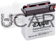 Exide Bike 11 Ah 6 V 95 A аккумулятор (-+, R) (6N11A-1B)