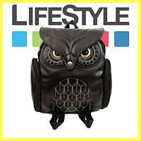 Стильный женский Рюкзак сумка Сова! + Apple в Подарок