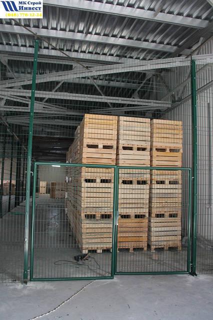 Ограждение для склада. 3