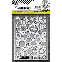 Папка для тиснения Carabelle Studio Embossing Folder Rouages
