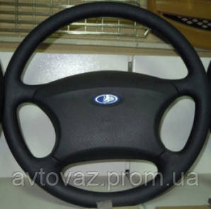 Колесо рулевое, руль ВАЗ 1118 Калина, ВАЗ 2170 Приора в сборе с сигналом