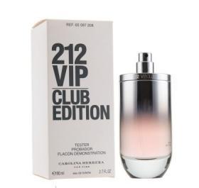 духи Carolina Herrera 212 Vip Club Edition Tester для женщин 80 Ml