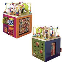 Развивающая деревянная игрушка - ЗОО-КУБ BX1004X