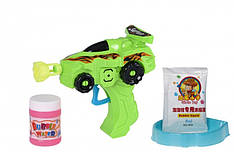 Мыльные пузыри Same Toy Bubble Gun Машинка зеленый 803Ut-1