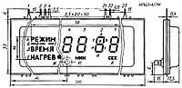 Оптоэлектрический индикатор ИЛЦ3-4/7М