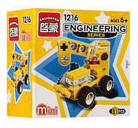 Конструктор BRICK Mini Стройтехника Кран, 31 дет., 1216, 007668, фото 1