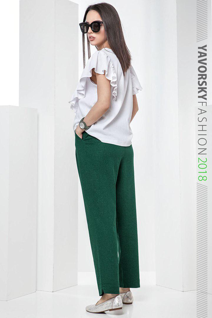a4e28afa1e2b72c Женский льняной костюм Мокко размер 42 - 48 цвет зеленый: продажа ...