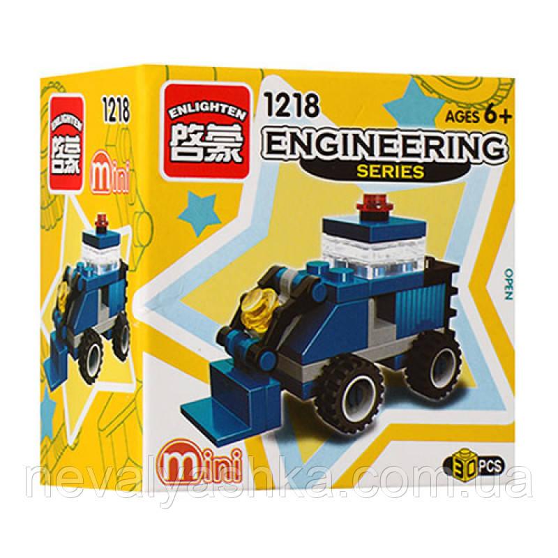 Конструктор BRICK Mini Стройтехника Бульдозер, 30 дет., 1218, 004072