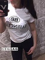 Женская футболка с надписью, новинка 2018