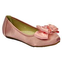Балетки для девочки розовые, Scarlett 35 размер