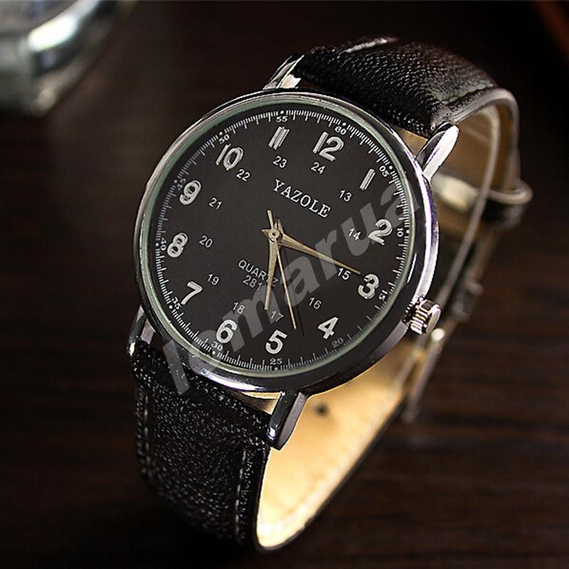 Мужские кварцевые часы Yazole 281 Black, цена 95 грн., купить — Prom ... 7a61e3ce4b8