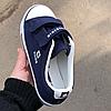Кеды текстильные 26-36 синие, красные, белые