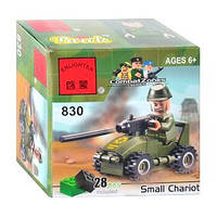 Конструктор Brick Enlighten Военная техника Автомобиль, 28 дет., 830, 000015, фото 1