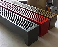 Конвектор напольный Fancoil FCN 160/150/1000 белого цвета, теплообменник 3/4