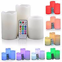 Набор светодиодных электро свечей Luma Candles Color