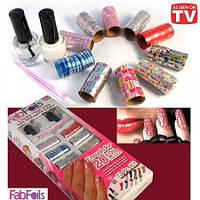 Украшения для ногтей Fab Foils набор для дизайна