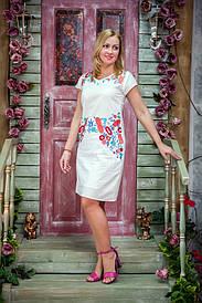 Женское летнее красочное платье W-02