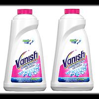 VANISH Oxi Action Кристальная белизна Пятновыводитель + Отбеливатель для тканей (жидкий) 1 L