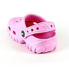 Розовые легкие сабо от Jose Amorales из пены ЭВА, р. 24/25, фото 3
