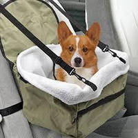 Удобная сумка в авто для небольших собак и котов