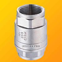 Клапан обратный резьбовой нержавеющий Ду 15 AISI 304