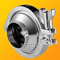 Клапан обратный под сварку DIN Dn 50 AISI 304
