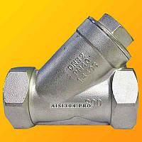 Фильтр угловой нержавеющий У-образный Dn 15 AISI 304